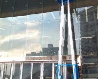 海口名门广场玻璃清洗